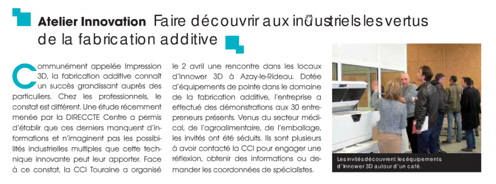 ARTICLE ECO MAG TOURAINE
