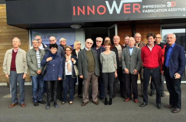 INNOWER : RECEPTION DE L'UNION TOURANGELLE DES ASSOCIATIONS INGENIEURS ET SCIENTIFIQUES (UTAI)